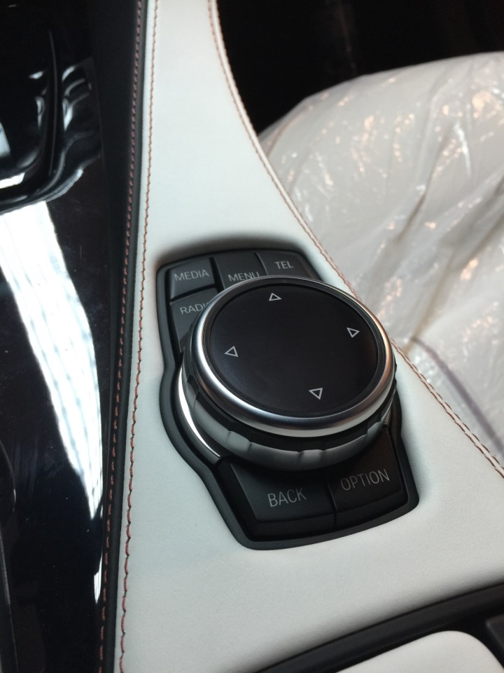 iDrive Touch Controller