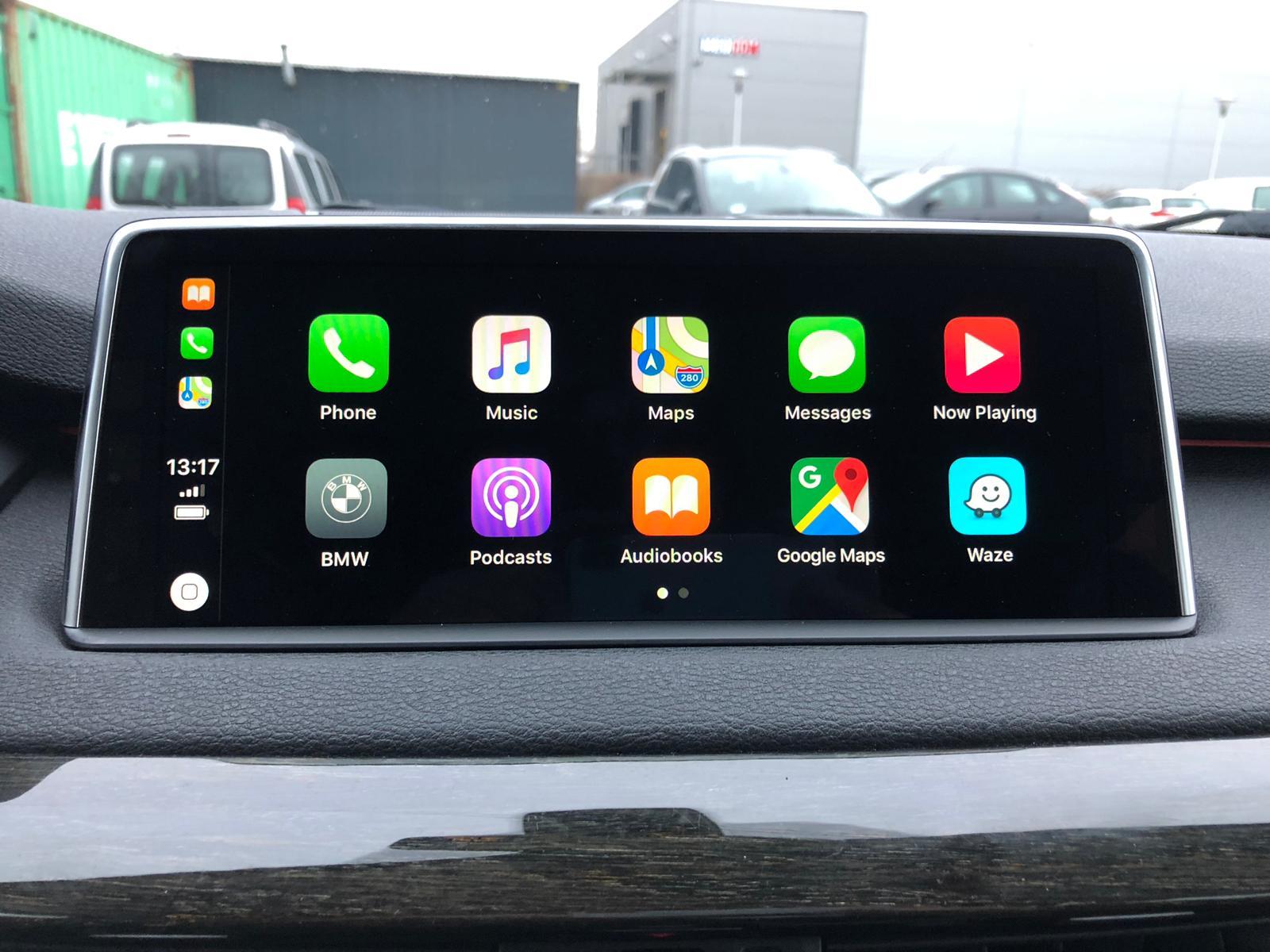 BimmerTech: Factory BMW CarPlay -> Full Screen