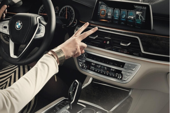 BMW gesture control - the next level of iDrive interaction