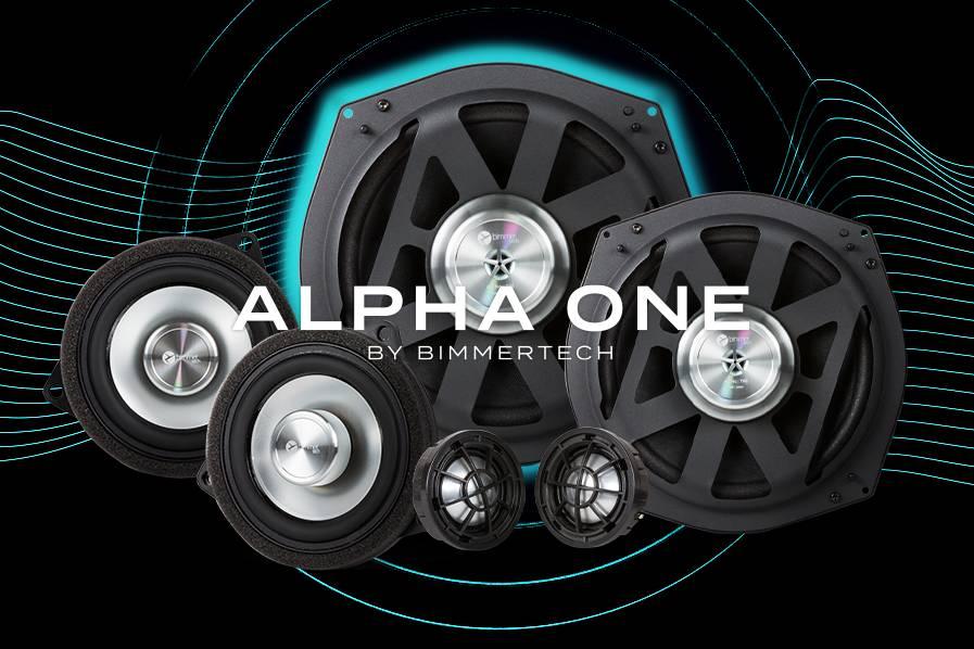Alpha One Speakers