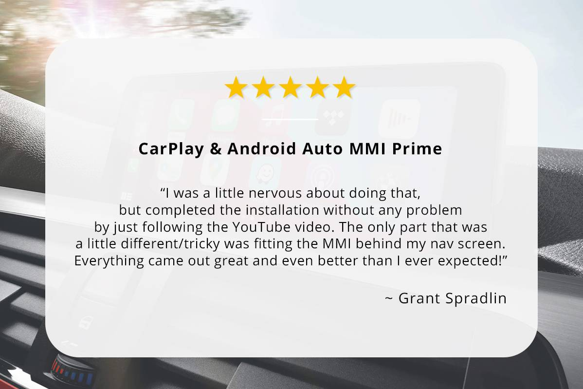 CarPlay & Android Auto MMI Prime review