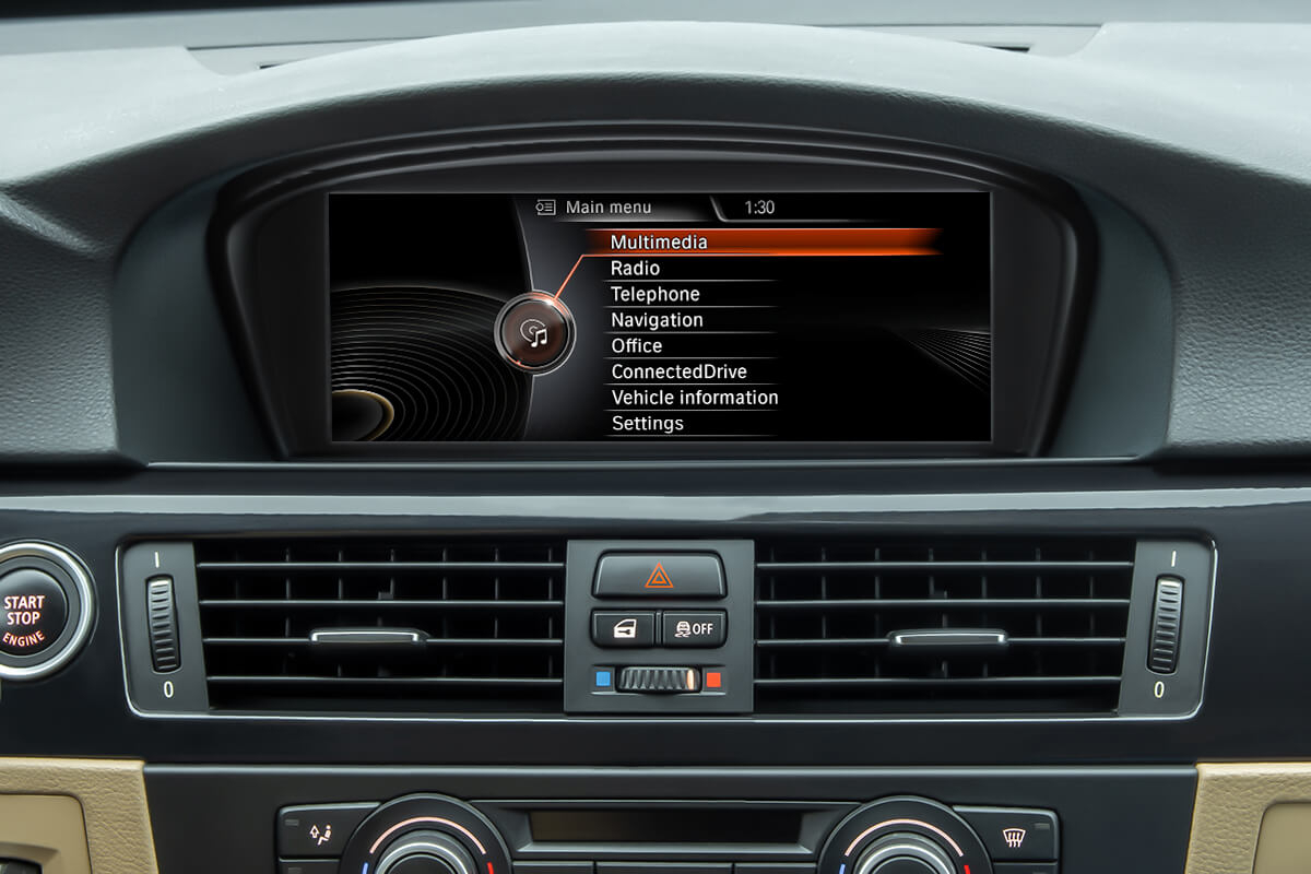 BMW CIC iDrive System