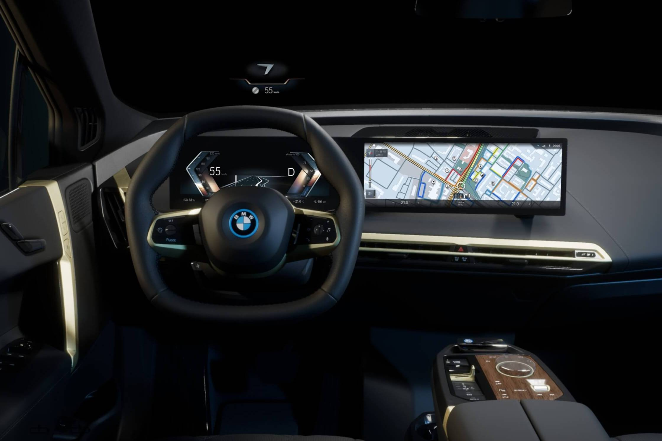 BMW Maps on Operating System 8