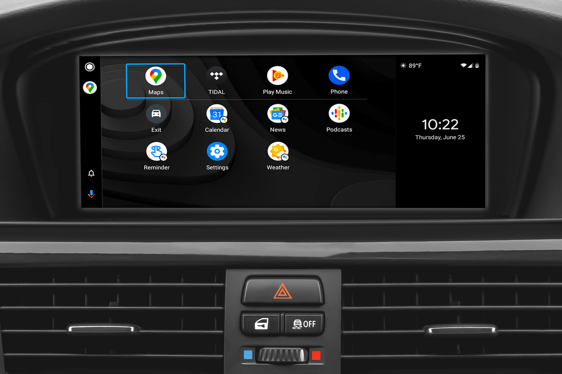 Wireless Android Auto support