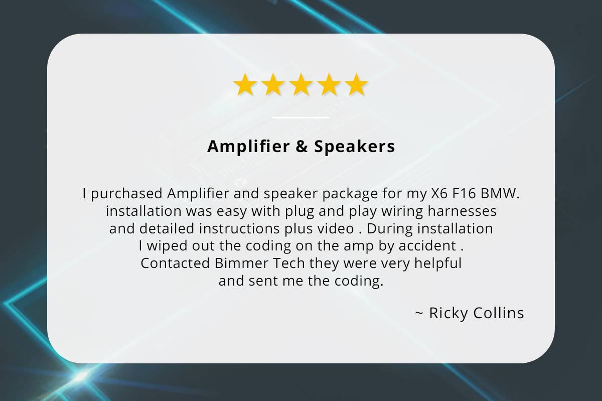 Amplifier & Speakers review