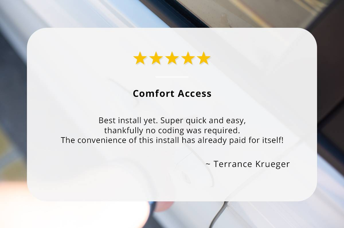 Comfort Access review