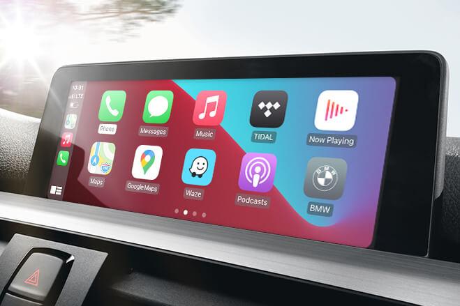 how to retrofit CarPlay into a 2016 or older BMW