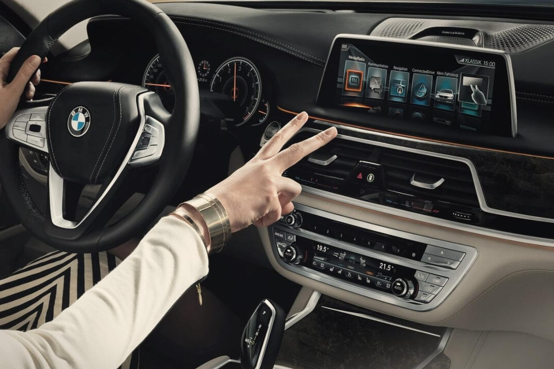 How does BMW gesture control work?