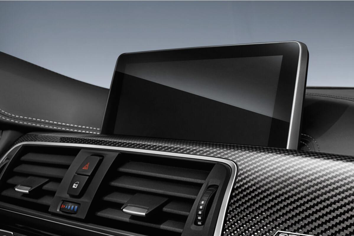 BMW iDrive screen