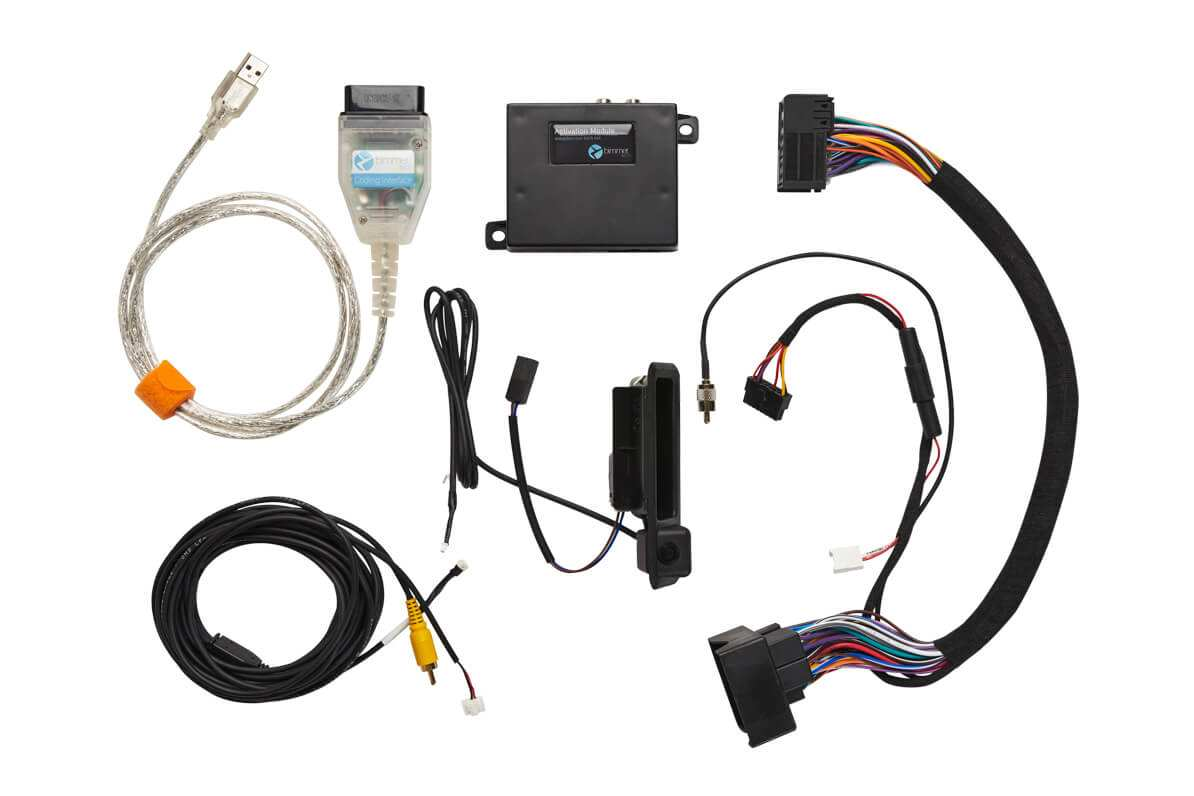 Rear View Camera Retrofit (OEM Integration) for BMW