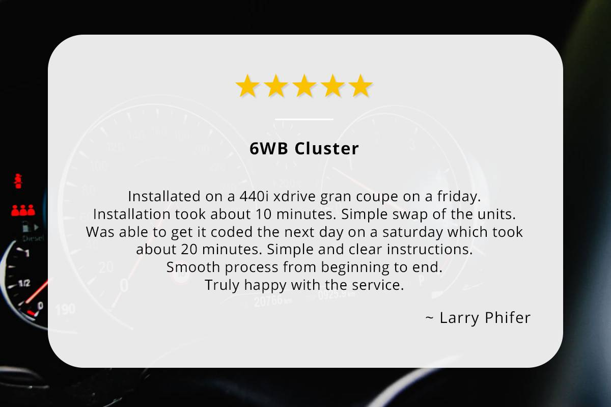 6WB Cluster review