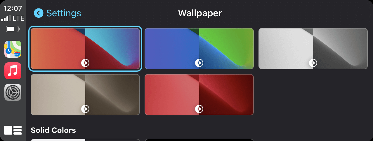 How to Change Your CarPlay Wallpaper?