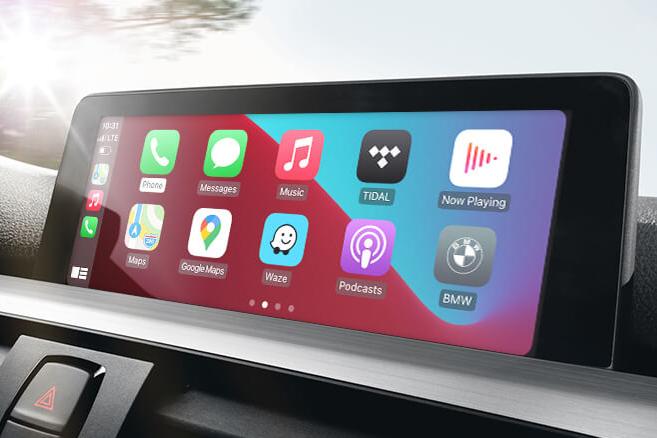 CarPlay MMI Prime in bmw f10