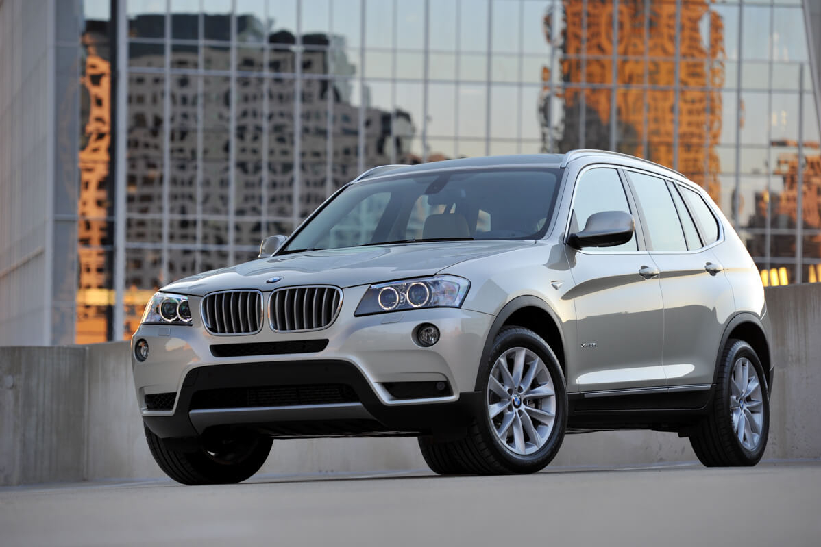 upgrading the BMW X3