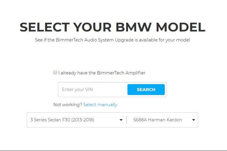 audio upgrade for BMW F30