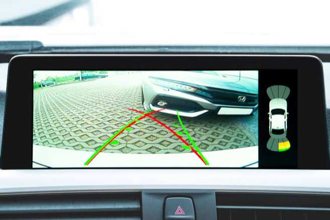BimmerTech rear view camera