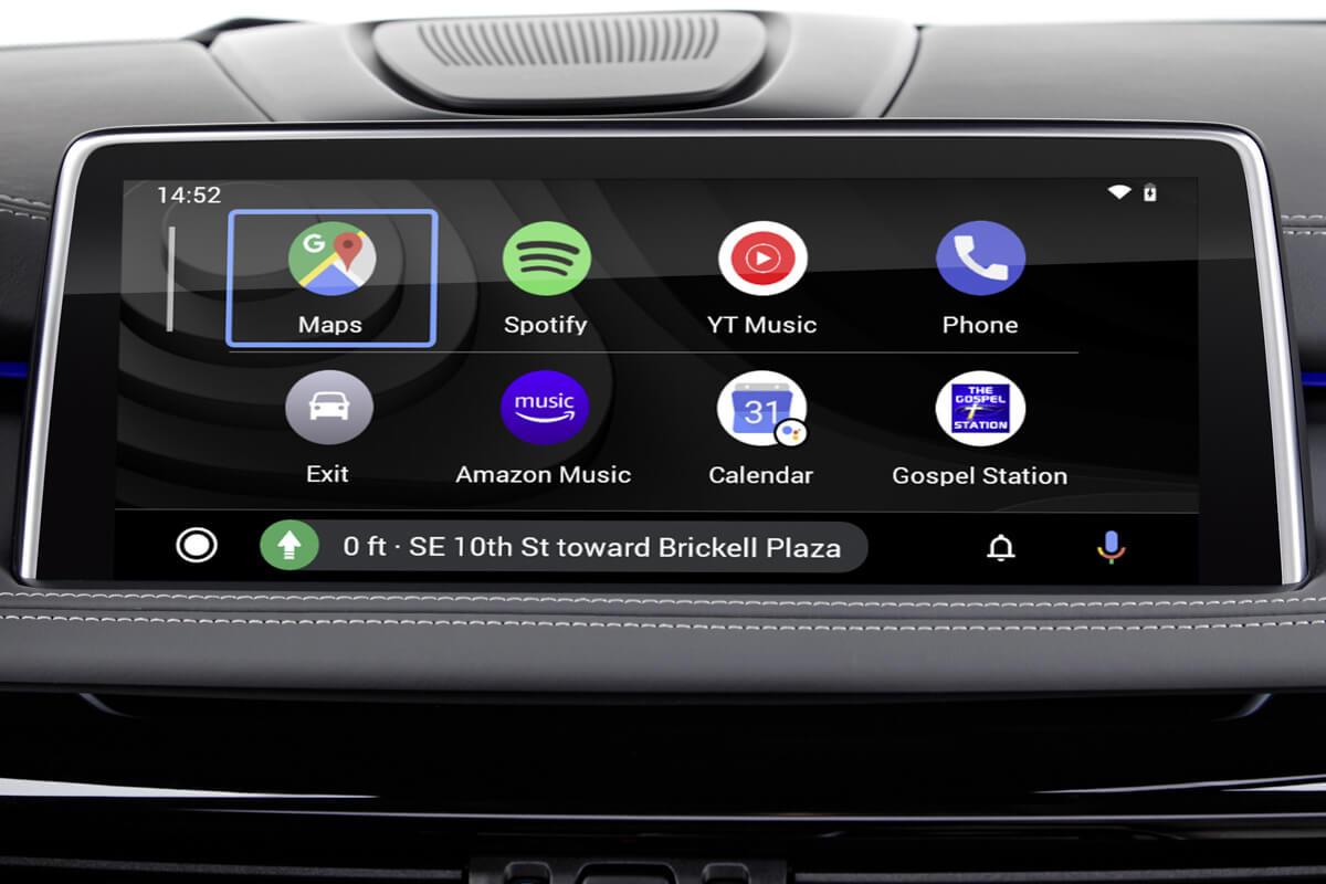 BMW Android Auto MMI Prime main