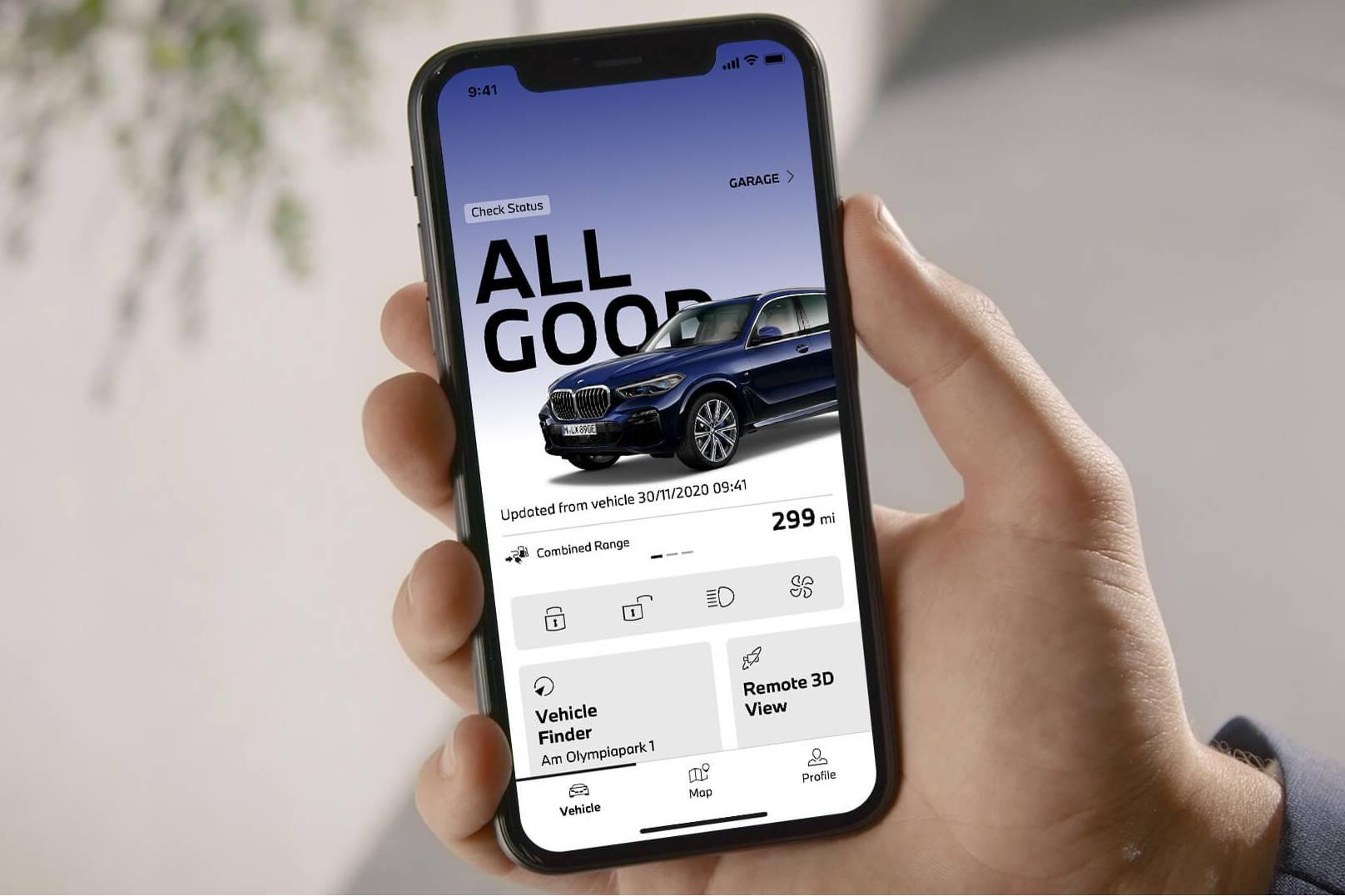 My BMW remote app