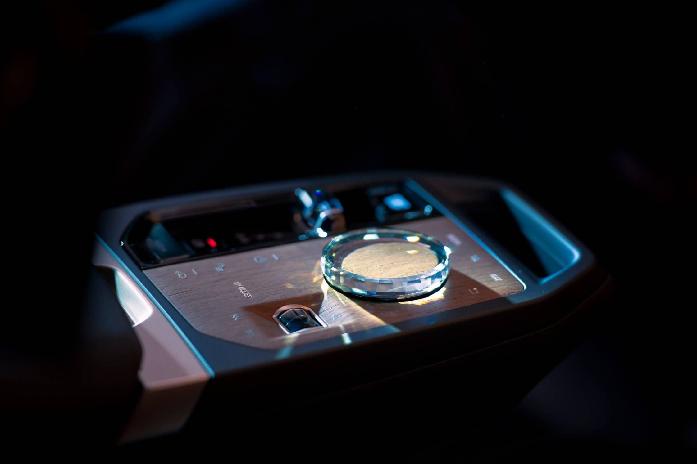 touch control in BMW iDrive 8