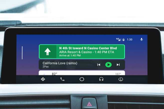 BMW Android Auto MMI Prime old look
