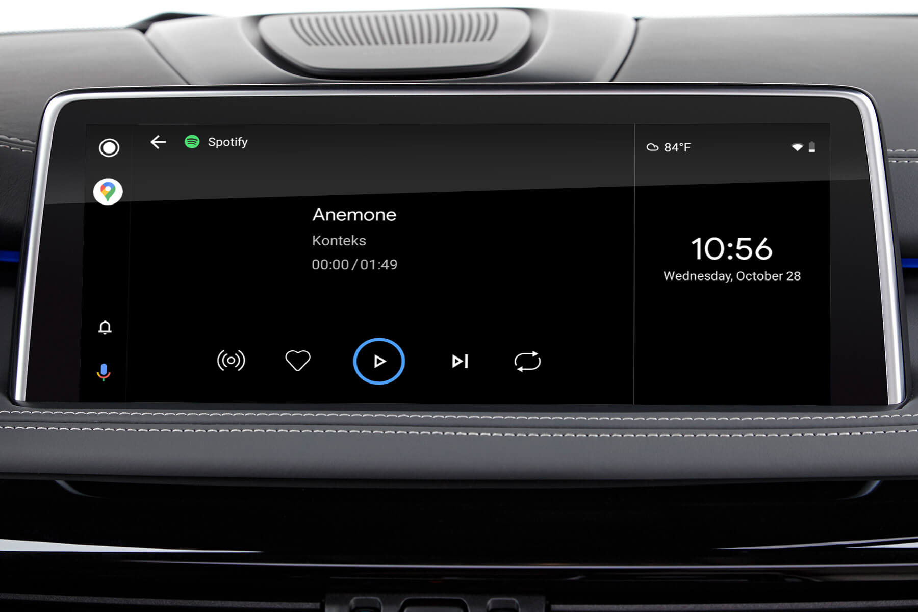 Spotify on Android Auto MMI Prime